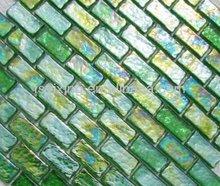 top new brick decorative decorative outdoor decorative glass wall art for bathroom (YX-RM09)