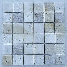 Antiqued Tumbled Travertine Tile
