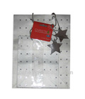 star design paper bags for christmas