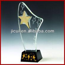 Fashionable Top Quality Crystal sports award star trophy