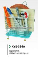 Double Tiers Wire Kitchen Rack XYE-336AL