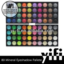 Cosmetic Wholesale! 80 Full Color Eyeshadow Palettes Double Stack Makeup nature hair eyeshadow brush accessory