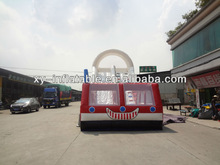 2013 fire truck inflatable slide