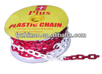 Worksite safety plastic chain all kinds of plastic chain