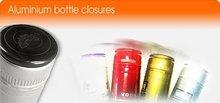 Pilfer - proof aluminum closure, bottle cap