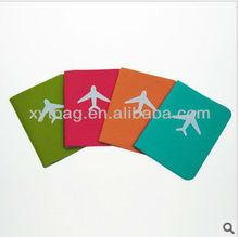 Different color PVC passport holder ticket holder wallet holder