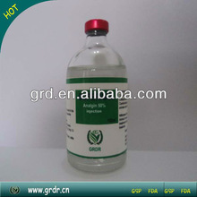 supplier of vet medicine, high quality Analgin injection 5% 10% 20%