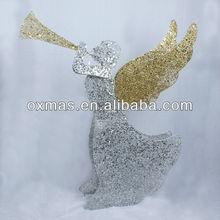 new design led light christmas decoration angel