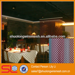 Hebei 304 decorative metal wire mesh/curtain wall/drapery