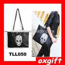 OXGIFT Skull Design professional women handbag TLL050
