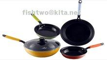 Ceramics coated frying pan