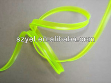Skirts EL Wire, Diameter 2.3mm Flashing EL Wire, with 6mm Skirts
