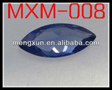 Shallow Tanzania blue Marquise shape 5*10 zircon stone