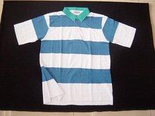POLO cotton strip T-shirt