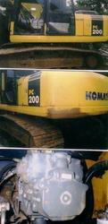 Excavator Komatsu Pc200-7