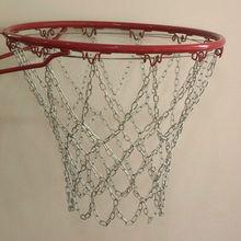 Iron basketball netting