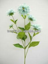 top seller flower exact quality hot pink artificial dahlia