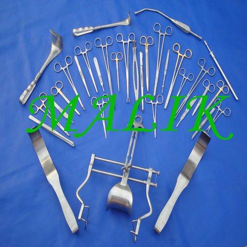 instrumentos 104 laparotomía conjunto básico médico quirúrgico