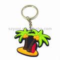Fait à la main pas cher clés de la chaîne d'arbres fruitiers