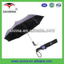 23''8k automatic motorbike 3 fold umbrella for promotion
