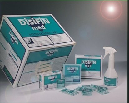 Disifin Med Surface Disinfectant Tablets