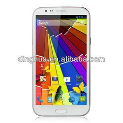 2013 new original Goophone N2 5.7 Inch HD Screen Quad-Core MT6589 12MP Camera 1GB RAM Android Phone