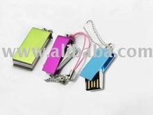 Mini Swivel type usb flash pen driver (USB pen drive)