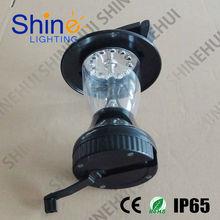 wholesale 12 led cranking dynamo solar led lantern with remote control