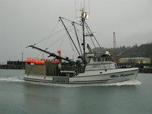 Long line fishing boat.