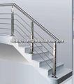 403,430,412,201,304,316 en acier inoxydable pour des balustrades et rampes d'escalier/balcon.