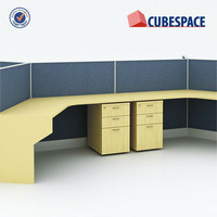 Fabric Tiles Call Center, Modern Style Office Furniture