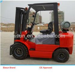 CPQYD15 1500kg Mini Nissan Forklift Gasoline/LPG/CNG Forklift Truck