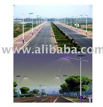 90W Solar LED Street Light With 100AH Accumulator