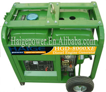 6KW diesel generator (EPA, ISO Approve ,Air-cooled design)
