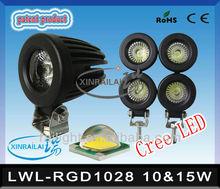 10 W ou 15 W super brilhante à prova d ' água IP68 fiat palio faróis RGD1028