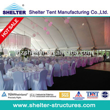 hot sale classic party tent royal wedding tent with romantic wedding decoration for large events