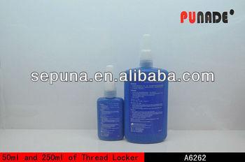 High viscosity and strength anaerobic thread locker sealant