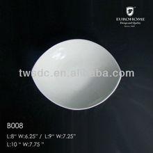 """Novo estoque de porcelana de 4.5 """" bacia quadrada"""