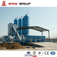 Productivity 60m3/h Concrete Mixing Plant HZS60 Concrete Plant In Construction & Real estate