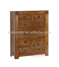 Relaimed Solid Oak Chest of drawers Wooden Chest Wooden Furniture RC2O4