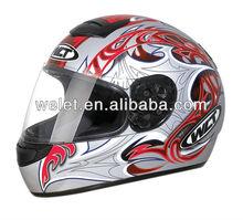 DOT helmet full face helmet safety helmet with chin strap
