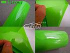 Superior auto car wrap vinyl in green color/ car protective film manufacturer