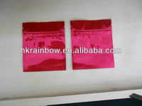 colored reclosable spice gold smoke heat sealed envelopes
