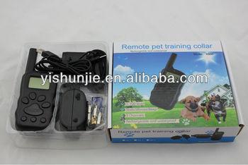 new hot sale X600 LED display remote control dog shock training collar