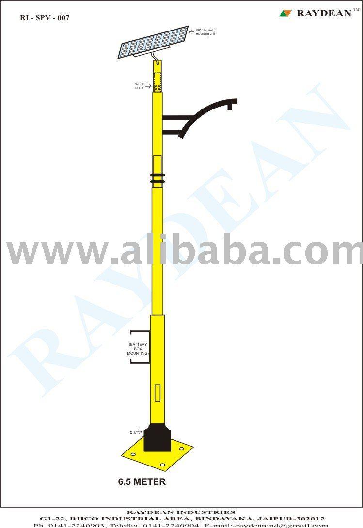 Alumbrado p blico solar y postes de iluminaci n del jard n for Alumbrado solar jardin