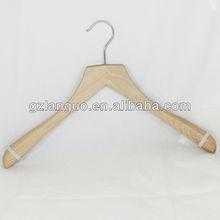 Chinese ash brass hook men suit wholesale coat hanger