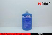 High viscosity liquid adhesive for threadlocking