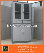 KFY-CB-06 Light Gray Metal Simple Cupboard Design