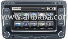 VW SKODA SEAT navigation system with TV, DVD