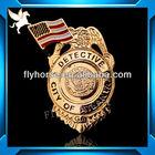 bedge and lapel pin metal badge